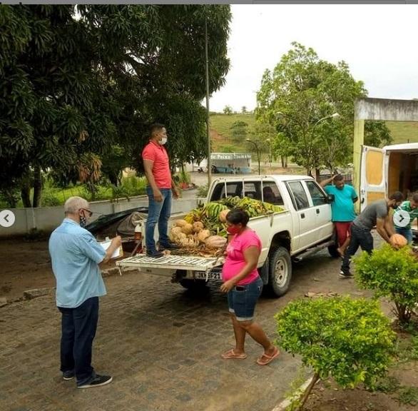Prefeitura e IPA cadastram famílias no Programa de Aquisição de Alimentos