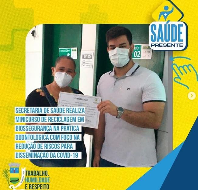 Saúde realiza mini curso de biossegurança na prática odontológica
