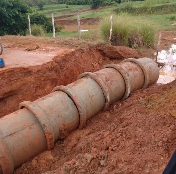 Prefeitura realiza limpeza e manutenção de tubulações na Usina Santa Tereza