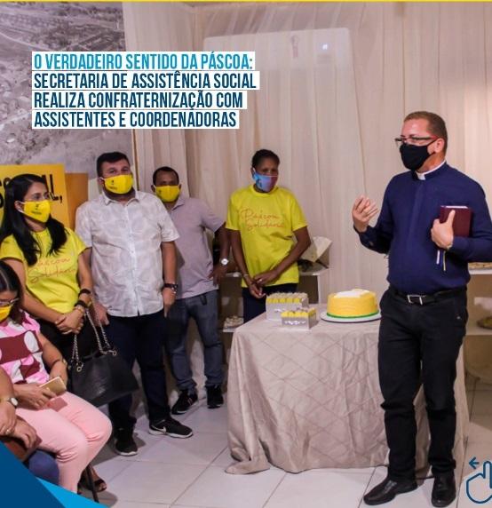Equipe da assistência social realiza Confraternização de Páscoa